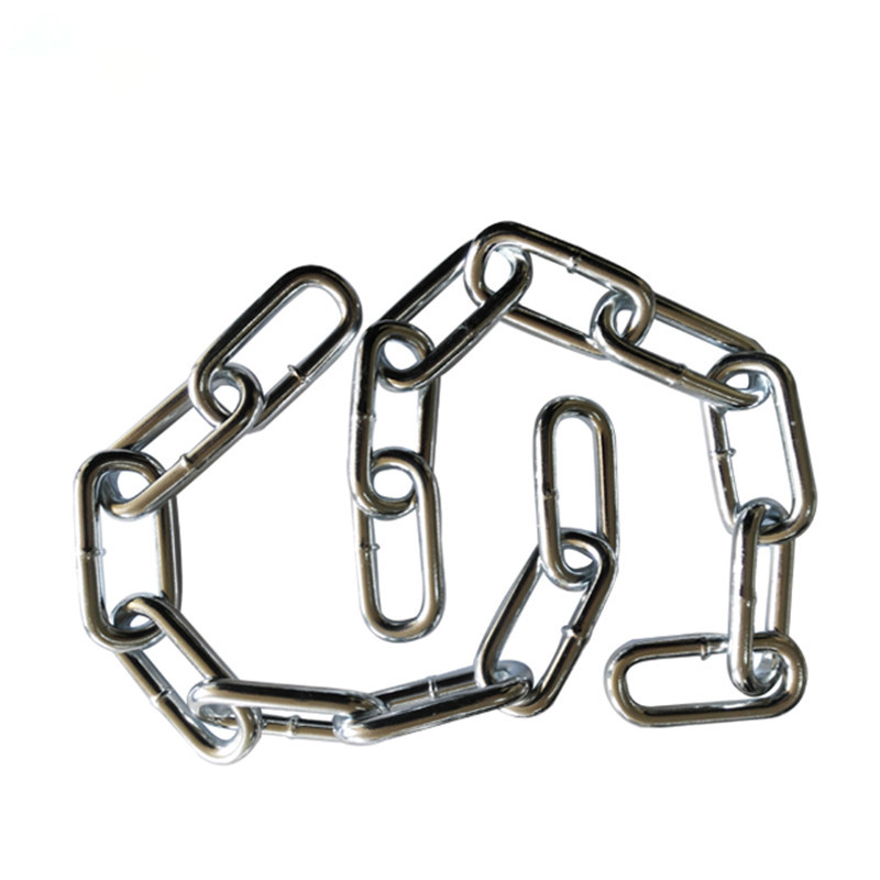 hot dipped GALV DIN763 long link mooring chain