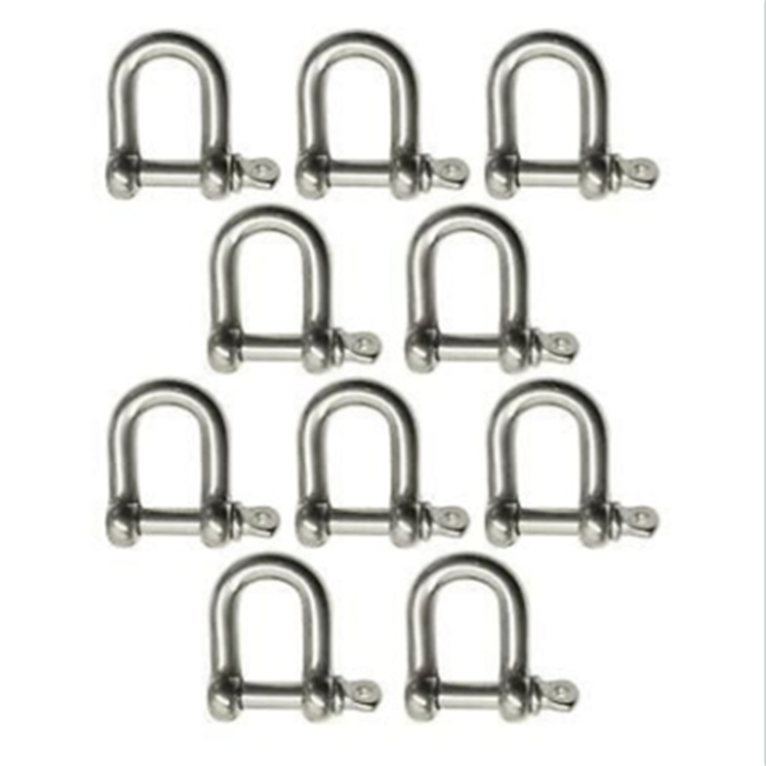 SHACKLES AISI316,STRAIGHT DEE