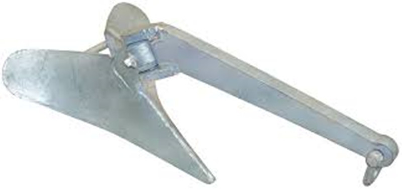 steel hot dipped galvanized plow anchor