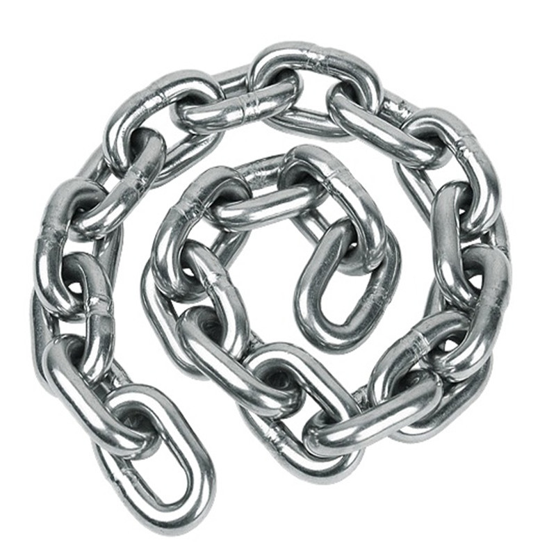 best quality AISI316 DIN766 short link anchor chain