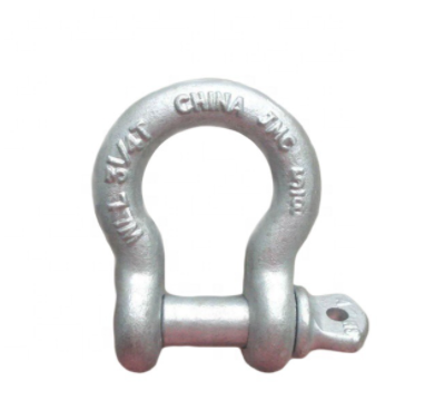 SHACKLES HOT DIPPED BOW TYPE 5,6,8mm