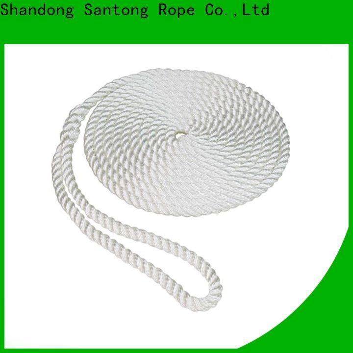 SanTong utility boat fender rope design for pilings