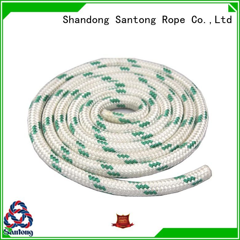 practical braided nylon rope uhmwpe factory for boat