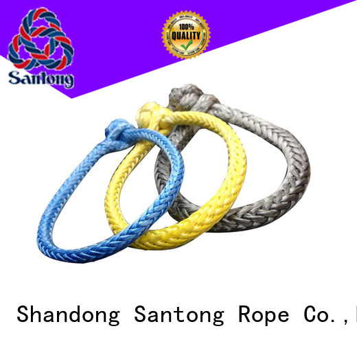 SanTong uhmwpe rope shackle from China for outdoor