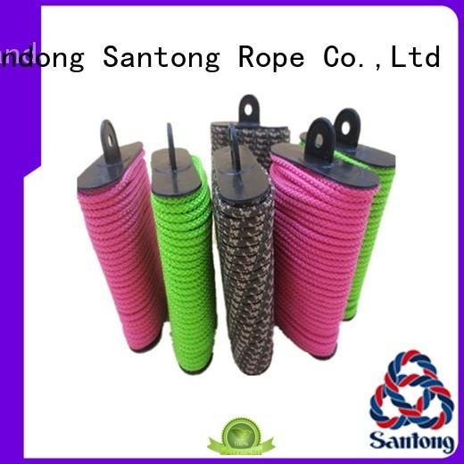 braided hammock nylon rope polyester for garden SanTong