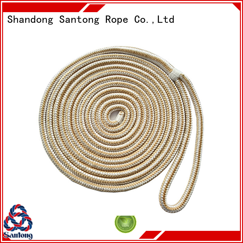 stretch twisted rope braided factory price for wake boarding