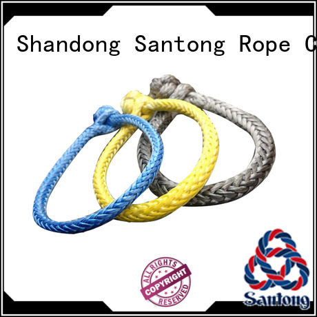 durable shackle rope grey from China for car