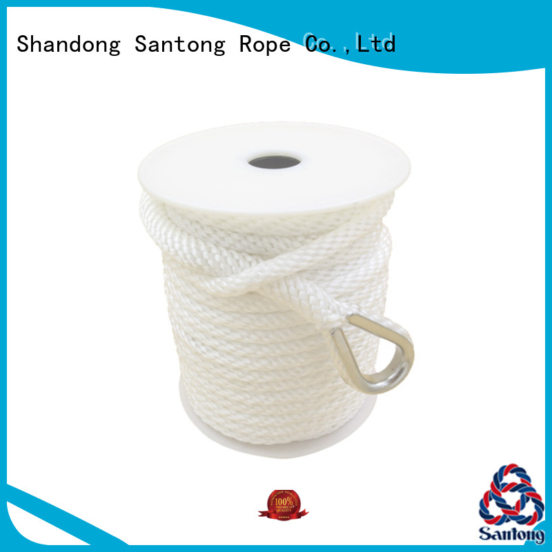 SanTong white anchor rope and chain wholesale for gas