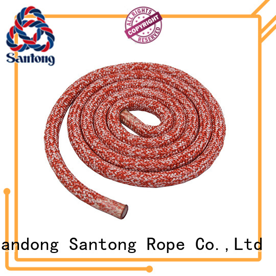 SanTong high strength polyester rope factory for sailboat