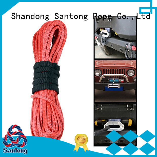 stronger braided rope 12strand wholesale for car