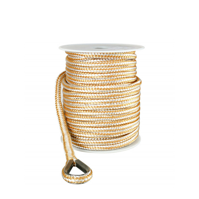 3/8*50 Double Braided Nylon Anchor Rope line