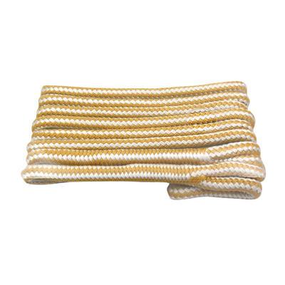 Gold/White Double Braided Nylon marine   Fender rope