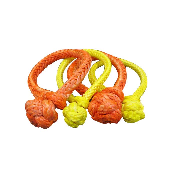 UHMWPE Yellow Orange stronger Braided Soft Shackle