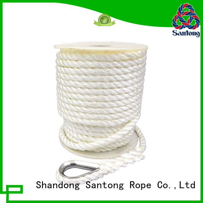 SanTong long lasting polyester rope factory price for oil