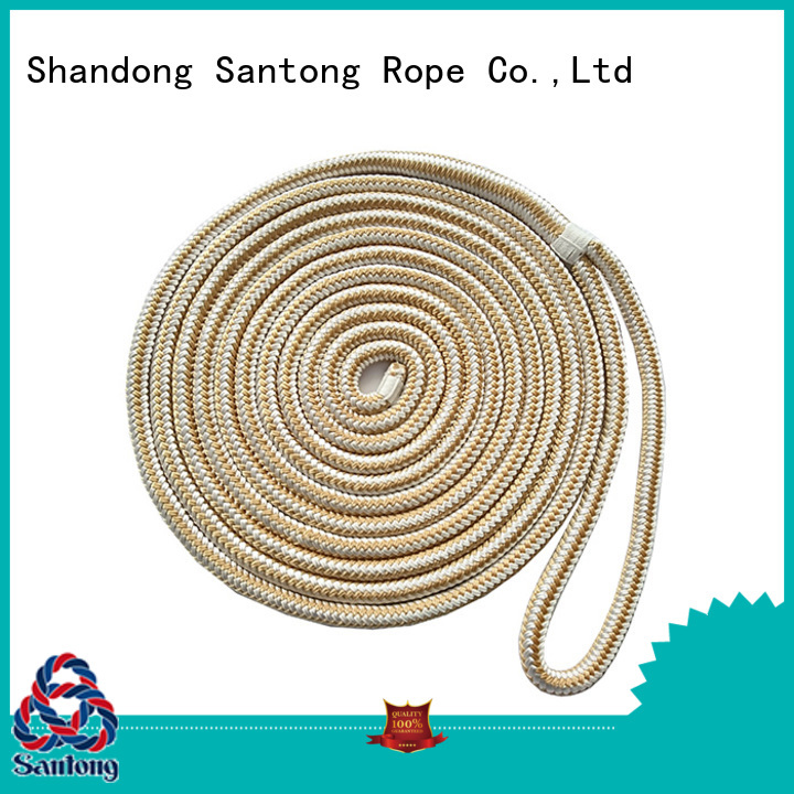 SanTong braided dock rope online for skiing