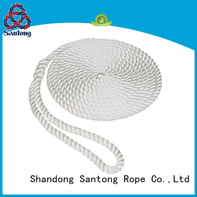 SanTong light braided rope factory for pilings