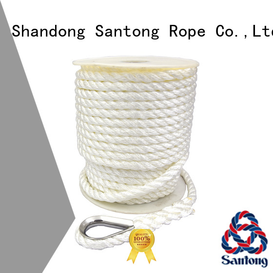 SanTong durable boat anchor rope at discount for oil