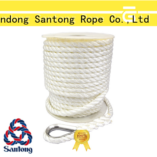 durable braided rope factory price for saltwater