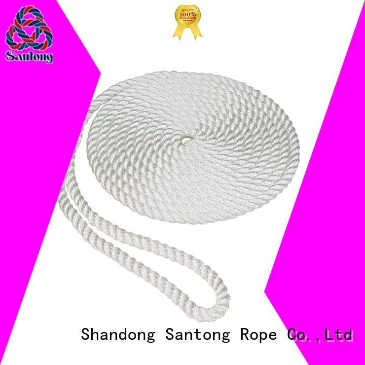 SanTong light fender board rope line for pilings