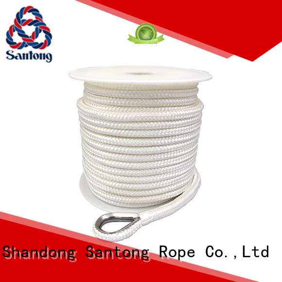 durable anchor rope for boats black factory price for gas