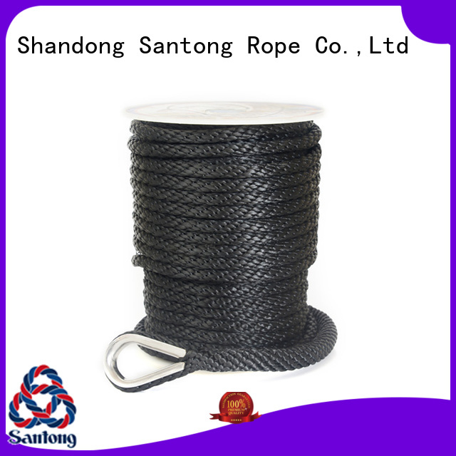 professional twisted rope black supplier