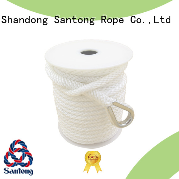 SanTong twisted anchor rope for boats factory price for oil