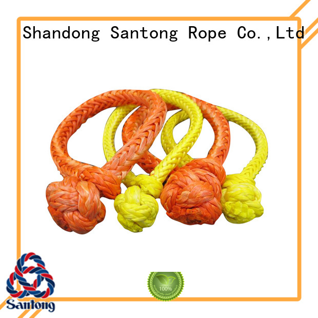 practical shackle rope orange series for car