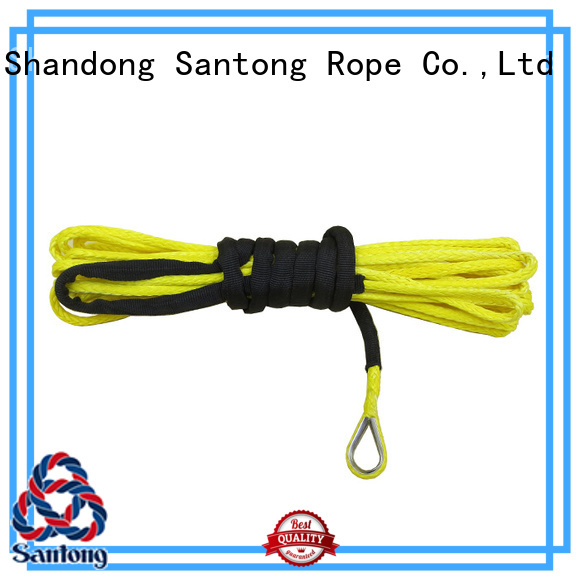 safety synthetic winch rope winch wholesale for car