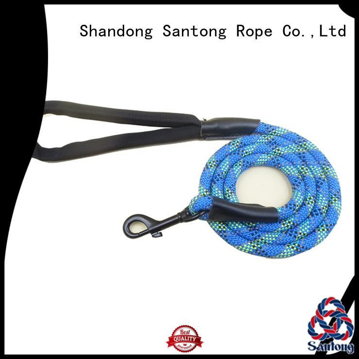 SanTong professional rope leash factory price for pet