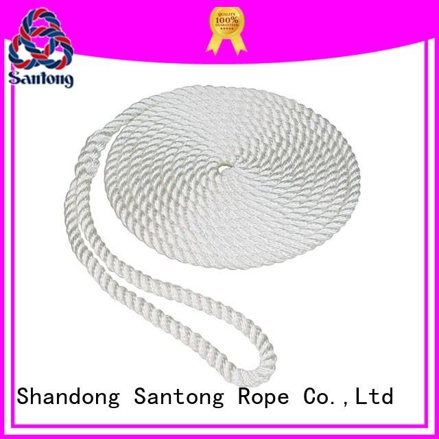 light nylon rope for sale design for docks SanTong