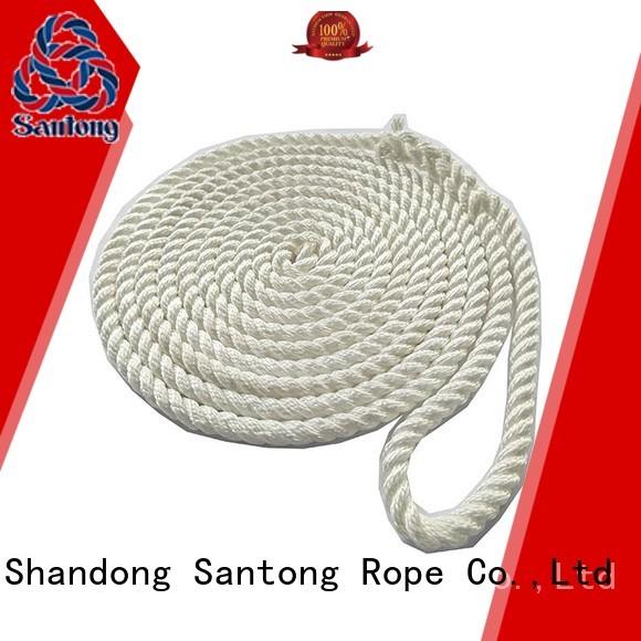 black boat rope supplier for skiing SanTong