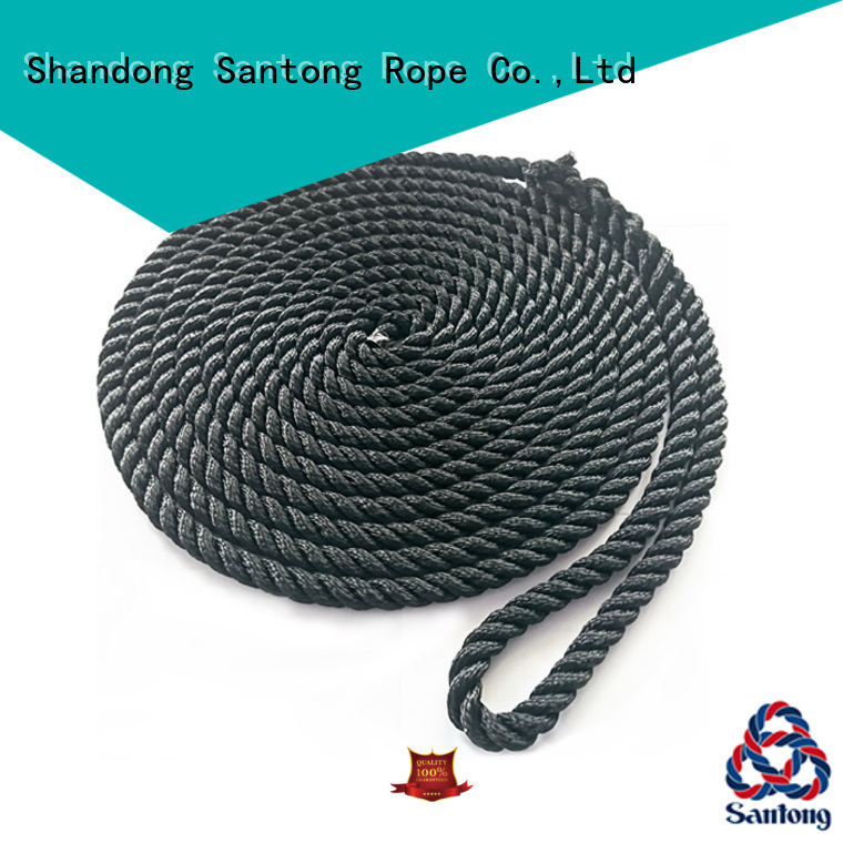 SanTong stronger boat ropes factory price for skiing