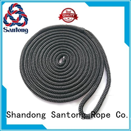 SanTong stretch braided nylon rope factory price for tubing