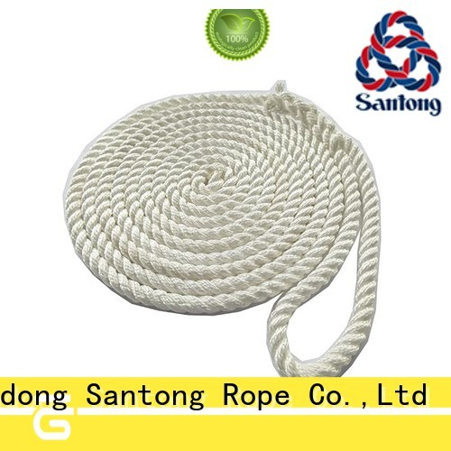 SanTong stronger polyester rope factory price for skiing