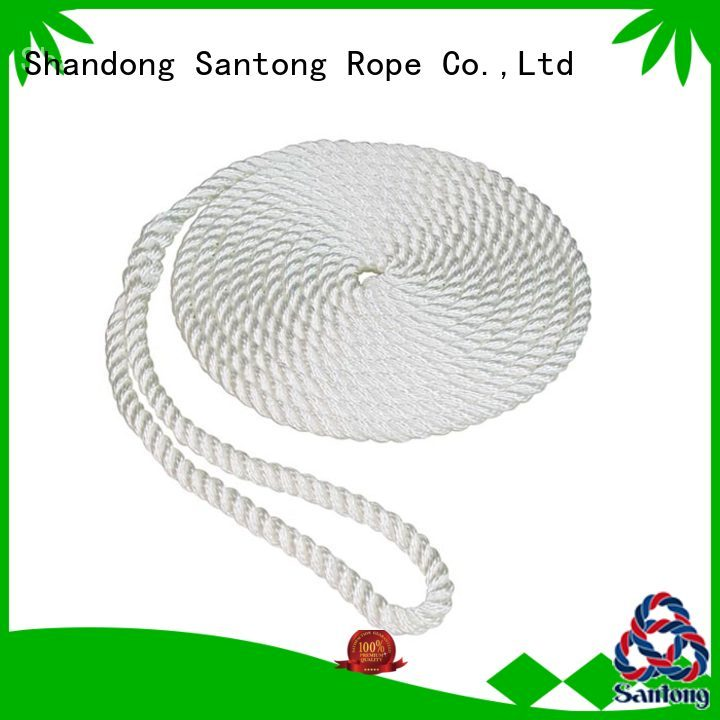 SanTong practical boat fender rope design for prevent damage from jetties