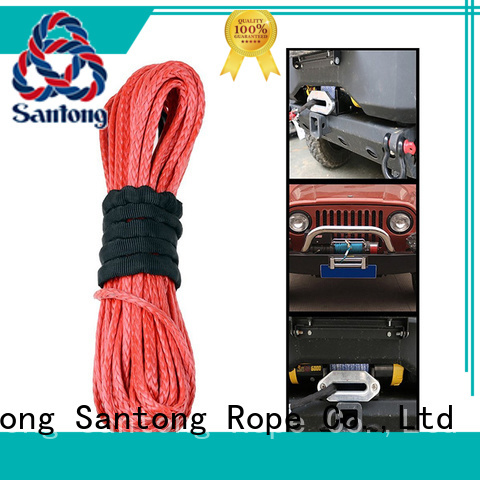 stronger winch rope sizes wholesale for car SanTong