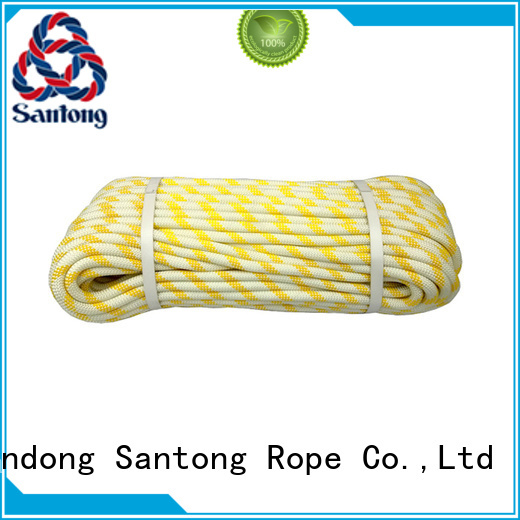 SanTong braided nylon climbing rope on sale for abseiling