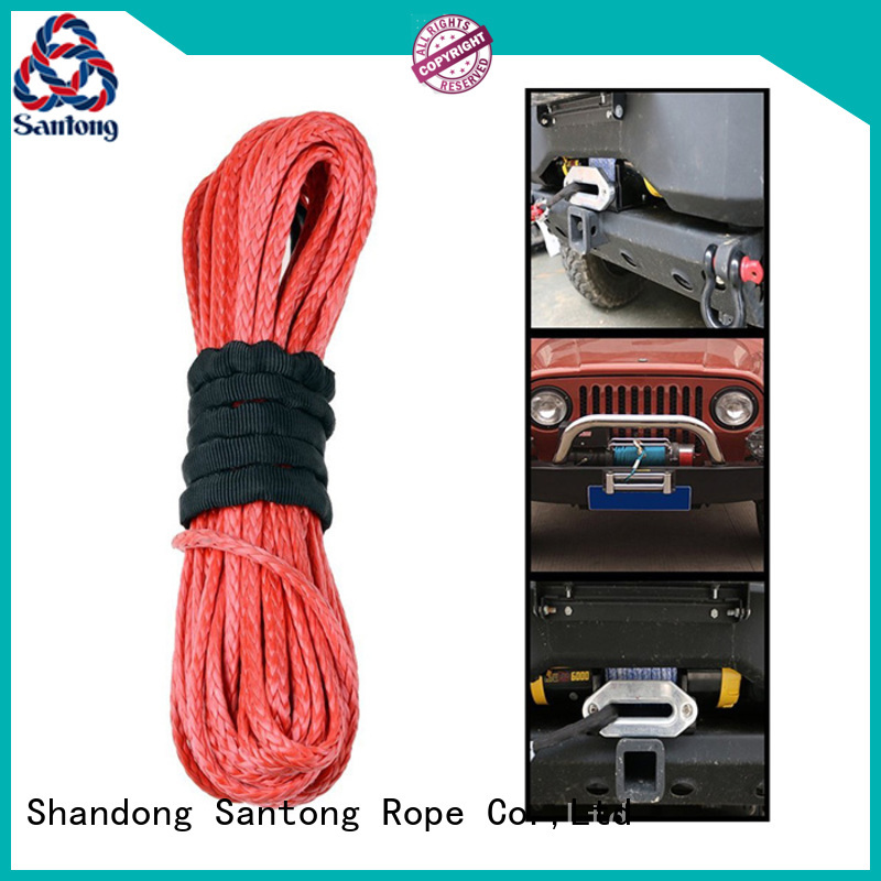 safety synthetic winch line line directly sale for vehicle