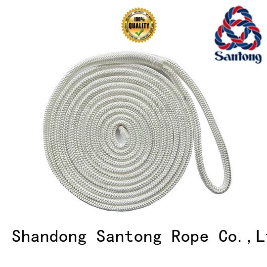 SanTong white marine rope wholesale for tubing