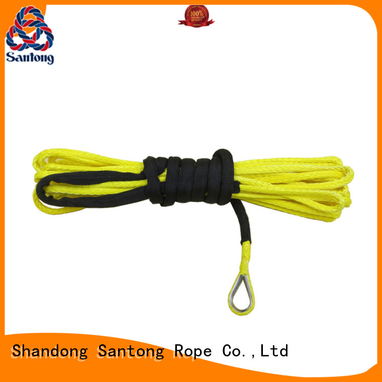SanTong synthetic winch line wholesale for truck