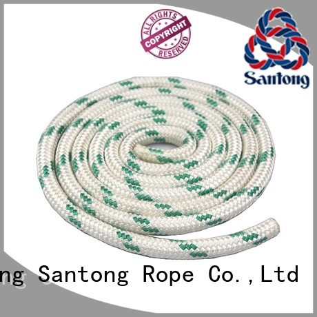 SanTong durable polyester rope factory for boat