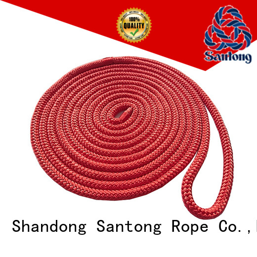SanTong red mooring lines wholesale for tubing