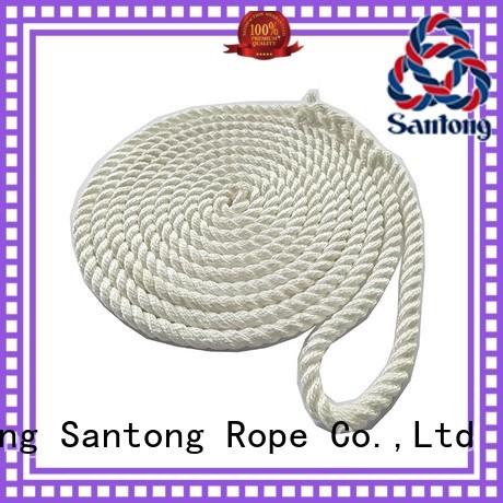 braided ship rope mooring for tubing SanTong