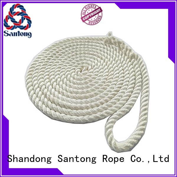 SanTong durable marine rope for sale goldwhite for tubing