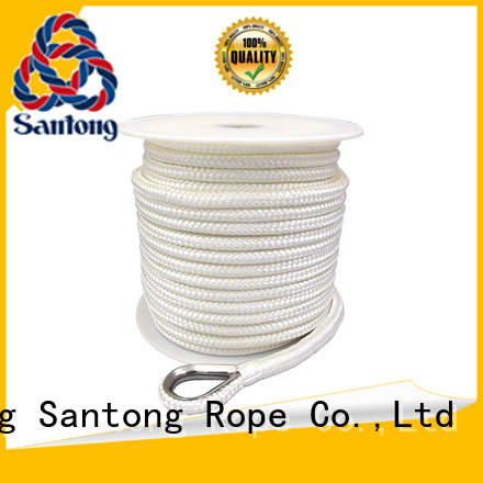 good quality anchor rope and chain braided wholesale for saltwater