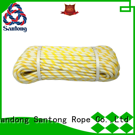 abrasion resistance rock climbing rope customized for caving