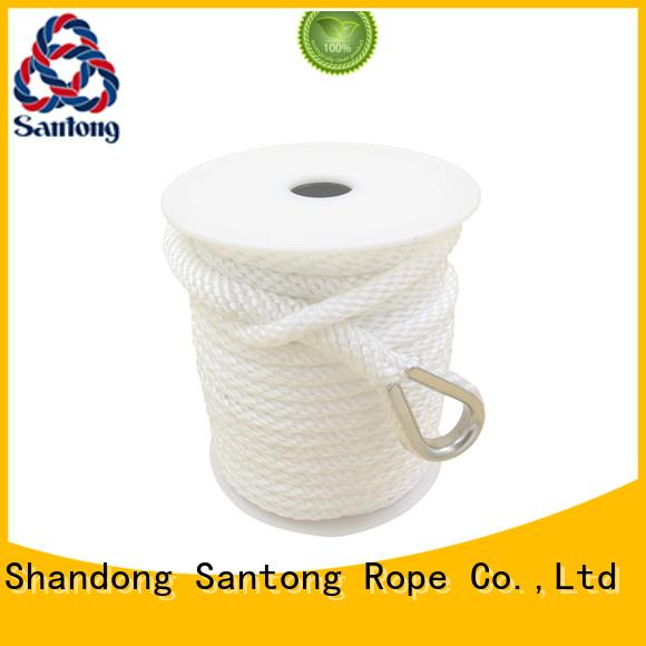 SanTong long lasting boat anchor rope supplier for oil