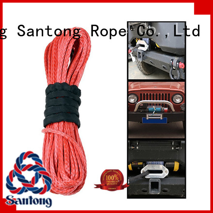 light synthetic winch rope product wholesale for car