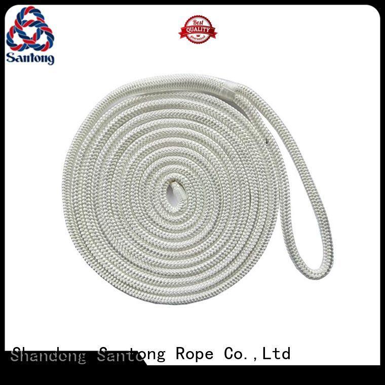 SanTong mooring braided nylon rope online for wake boarding