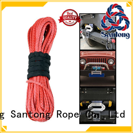SanTong winch synthetic winch rope wholesale for car